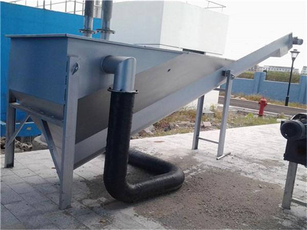 螺旋式砂水分離器安裝及操作注意事項