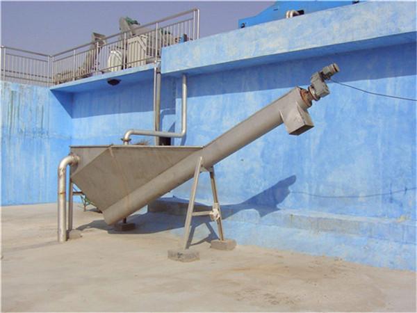 螺旋式砂水分离器设备构造及工作过程