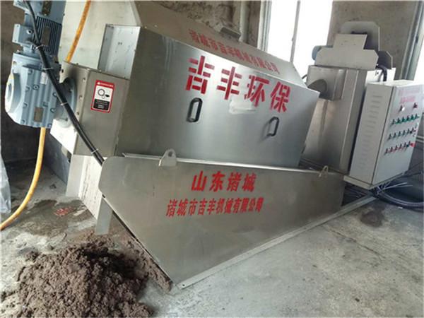 叠螺污泥脱水机工艺优势说明