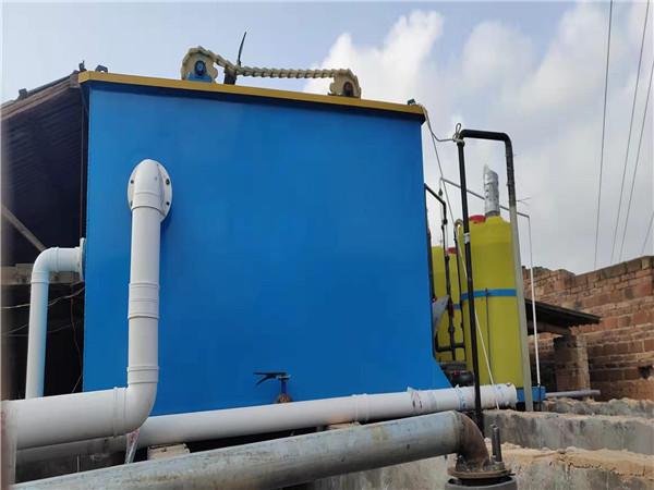 氣浮機betway必威手機版官網在紡織印染汙水的應用