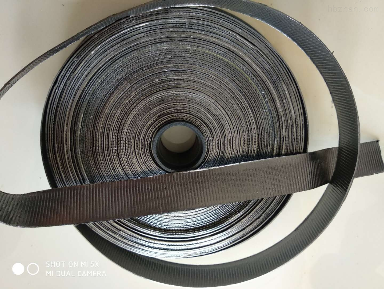 轴用耐高压背胶自粘石墨波纹带厂家生产