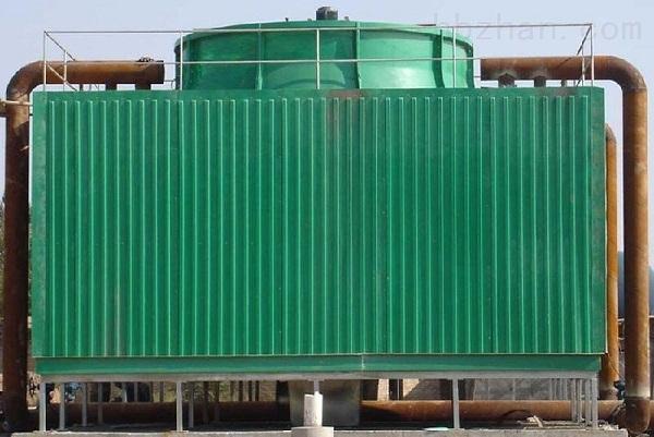 逆流式玻璃钢冷却塔1风扇3电机4减速机