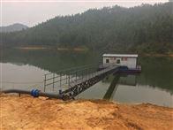 自然升降汲水浮坞泵站