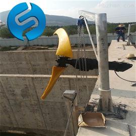 QJB7.5/4-1800/2-63潜水推流器 设备尺寸图