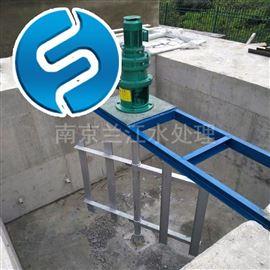 JBK慢速框式搅拌机 JBJ-300药剂桶溶解搅拌器