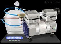 实验室耐腐蚀无油隔膜真空泵