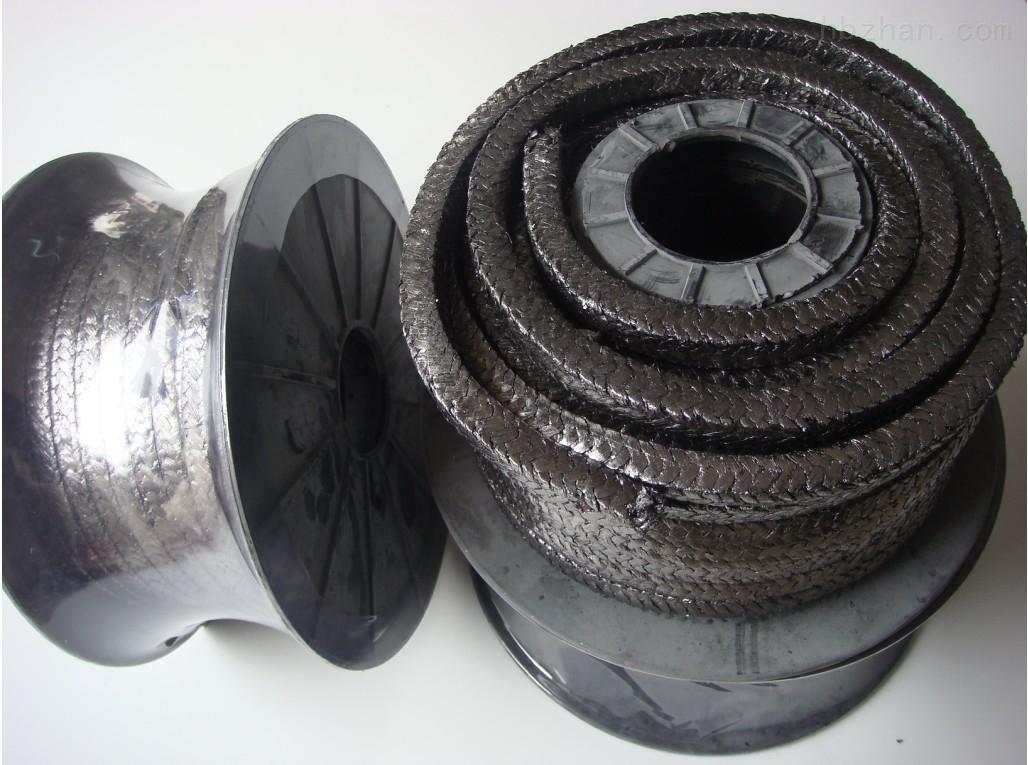 反应釜专业石墨盘根、石墨编织填料环厂家
