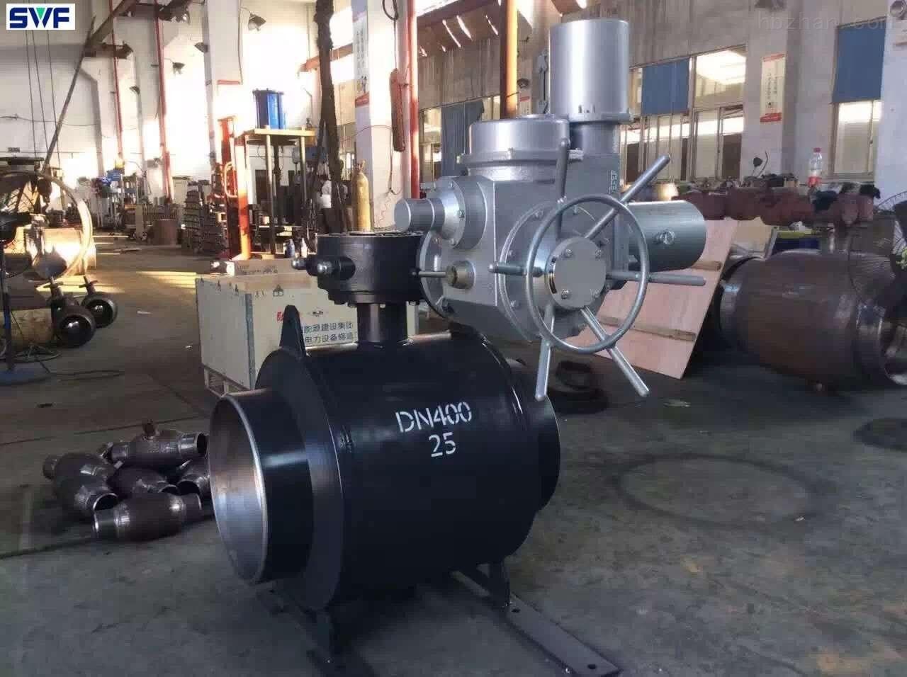 電動燃氣焊接球閥