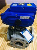电动L型三通切换球阀SMQ945F-16C