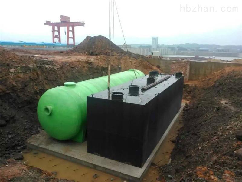 咸阳市渭城区地埋式-一体化-污水处理设备
