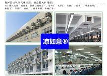 LRY-18仓储物流通风降温方案_车间冷风机安装
