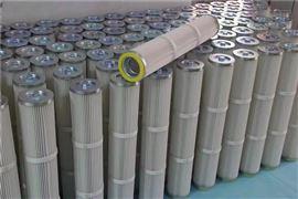 齐全D50螺纹压盖滤筒 覆膜阿特拉斯除尘滤芯厂家