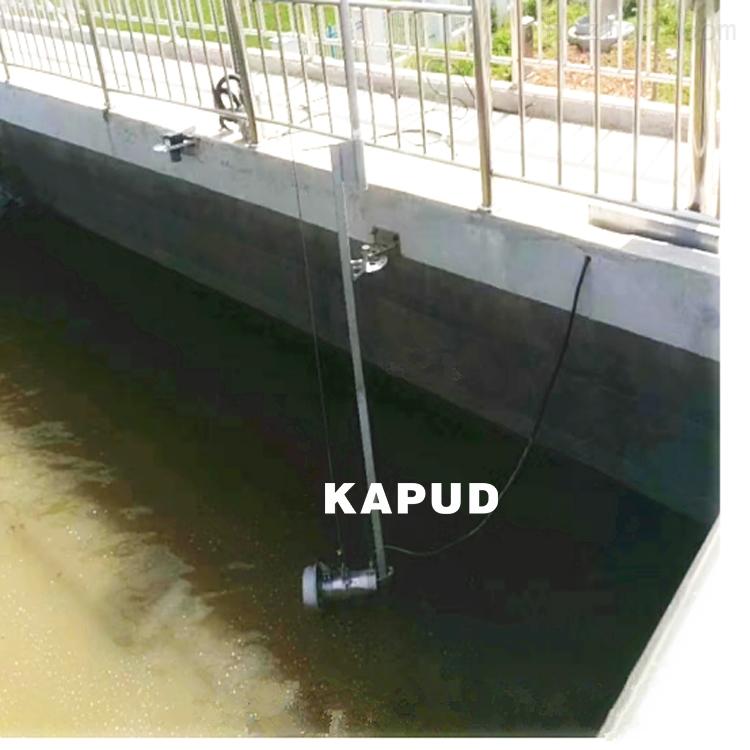 污泥浓缩池防沉淀 潜水搅拌机 安装