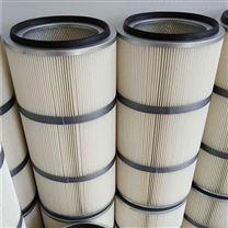 白色无纺布除尘滤芯 3566防油防水粉尘滤筒