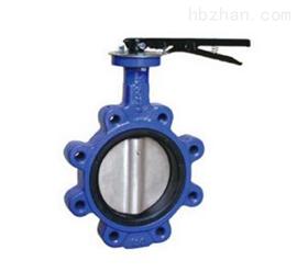 碳鋼凸耳式光桿蝶閥