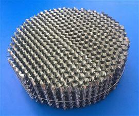 金属刺孔波纹填料