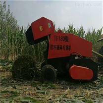牵引式多功能粉碎打捆机干湿芦苇秸秆收捆机