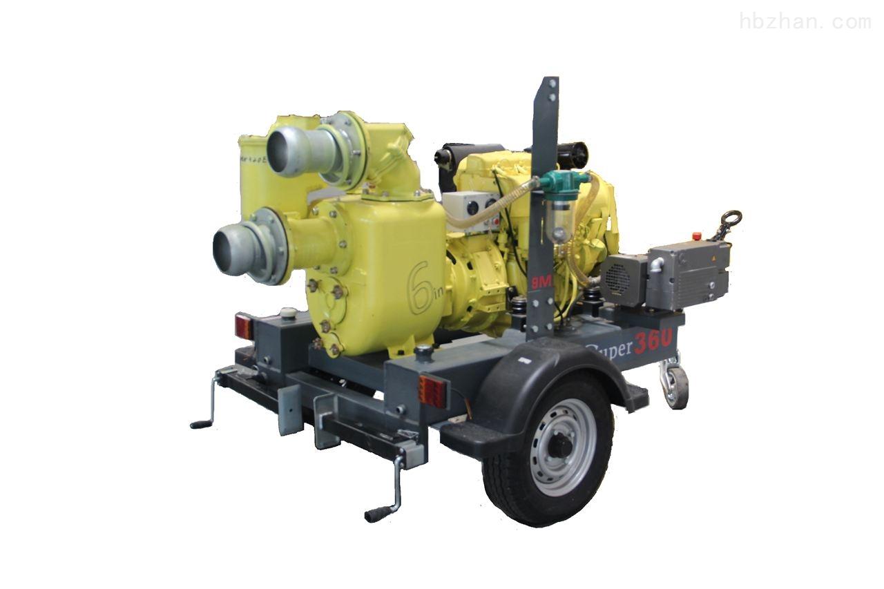 澳门威斯尼斯人网址_不用加引水的强自吸防汛抢险移动抽水泵车