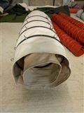 自定石灰卸料输送加厚耐磨伸缩布袋