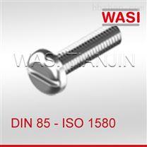 DIN85一字槽盘头螺钉