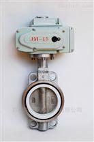 D971F46電動對夾式襯氟蝶閥