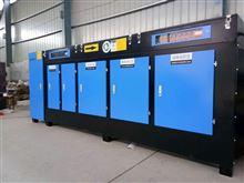 江苏注塑车间废气处理UV光氧+活性炭设备