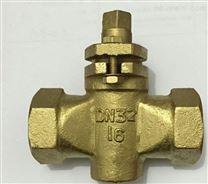 X13W二通内螺纹铜旋塞阀