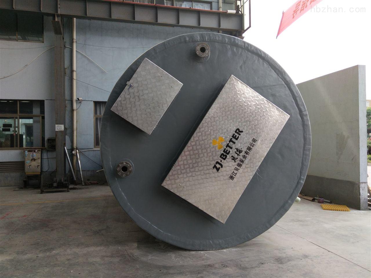 不锈钢一体化污水预制泵站设备