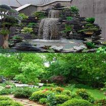甘肃张掖假山和武威园林绿化厂