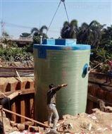 校区地埋式智能一体化预制雨水泵站