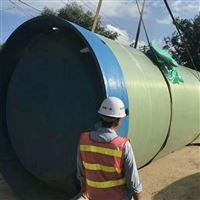 一体化废水处理玻璃钢水利泵站