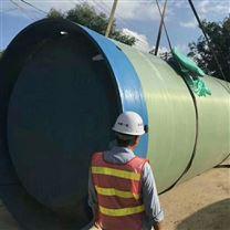 地埋式污水处理玻璃钢水利泵站