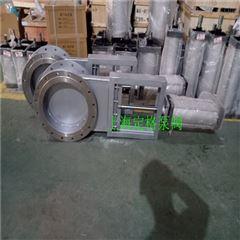 LMD-1-C气动不锈钢插板阀