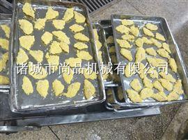 刀鱼上浆裹粉设备现货出售