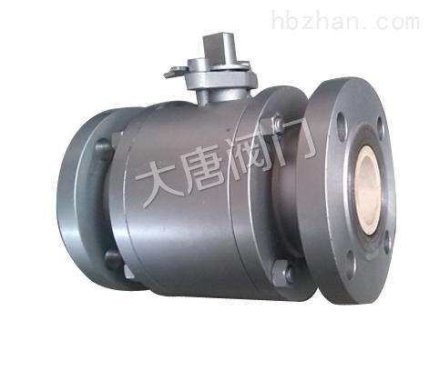 V型碳钢陶瓷球阀