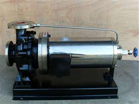PBW不锈钢卧式屏蔽泵