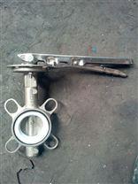 D71X-10P不锈钢软密封蝶阀