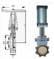 PZ973TC电液动耐磨损耐腐蚀陶瓷刀闸阀