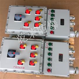 BXK温州防爆控制电机开关箱