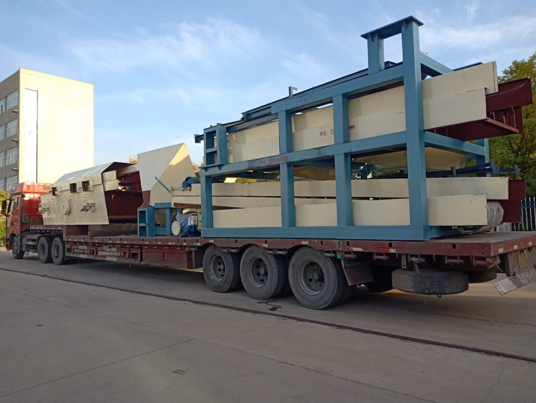 蓝基日处理200吨生活垃圾分拣机运往上海
