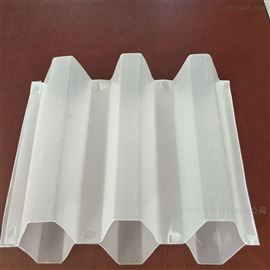 污水处理沉淀池pp斜管填料规格