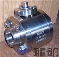 不锈钢锻造圆体高压焊接球阀