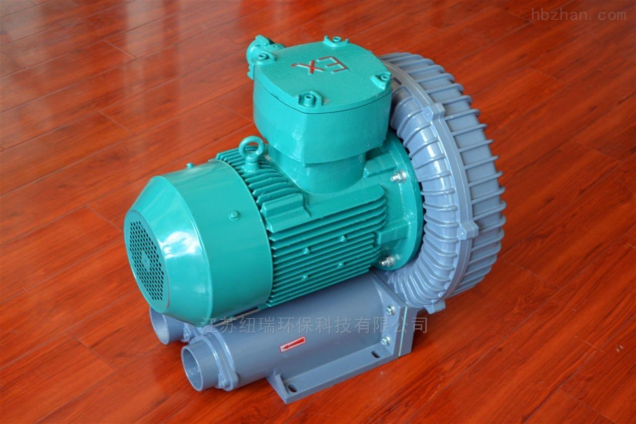 防爆旋涡气泵造纸机械设备纽瑞防爆风机