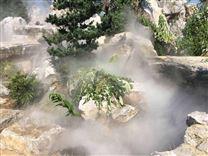 园林景区假山水池人造雾雾效果造雾造景设备