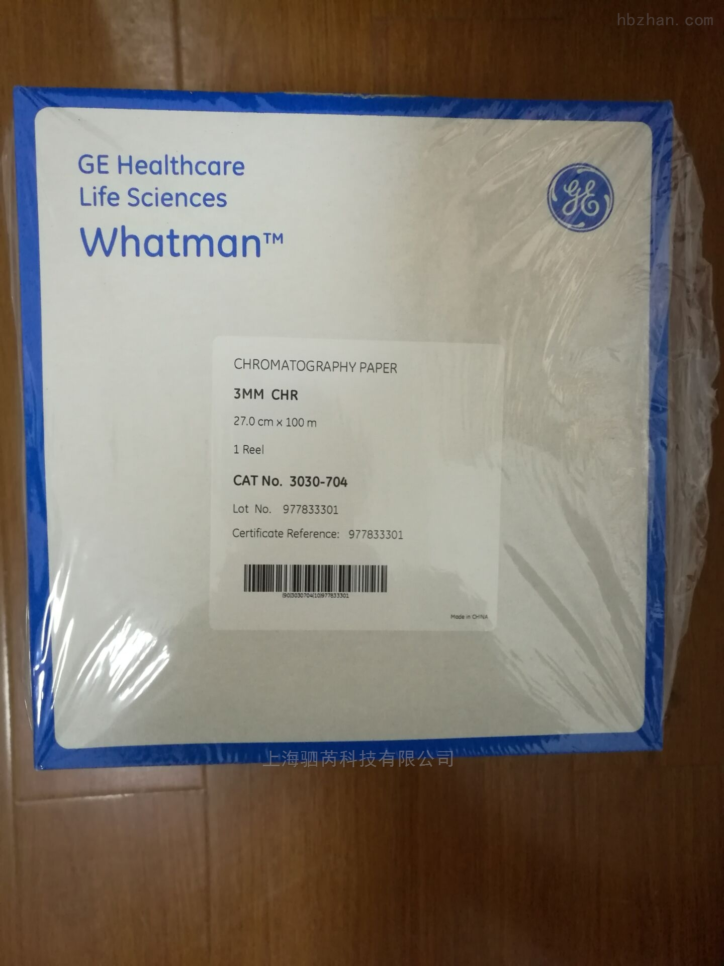 whatman3MM CHR色谱层析纸 3030-704