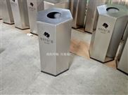 广场垃圾桶定做-商场不锈钢垃圾箱  六边形垃圾桶