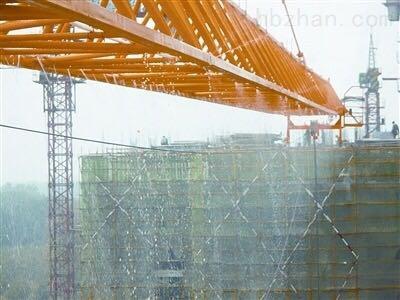 荆州塔吊喷淋系统的作用
