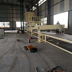 双面复合岩棉复合板设备全自动生产线