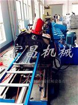 钢踏板钢跳板生产线