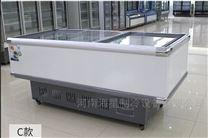 鹤壁新乡哪里卖组合岛柜 超市卧式展示冰柜